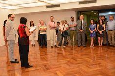 """Abertura da exposição """"Lado a Lado"""" de Willys de Castro que aconteceu no dia 30 de março de 2016, com curadoria de Gabriel Pérez-Barreiro. A exposição está em cartaz até 25 de junho de 2016 no Instituto de Arte Contemporânea e no Muba dentro do Centro Universitário Belas Artes de São Paulo Fotos: Iara Morselli"""