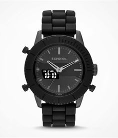Analog and Digital Watch: This is one HOT timepiece. #Express