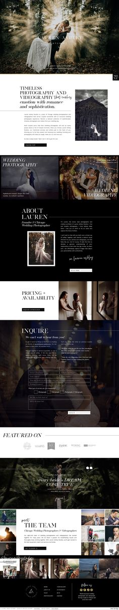 Showit website design by Rachael Earl Design. Creative Business, Logo Design, Website, Photography, Photograph, Fotografie, Photoshoot, Fotografia