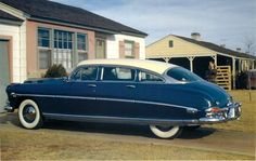 1953 Hudson Hornet Sedan- used to have one of these!!! Bought it for $25 in around 1971.