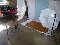 low cost studio set up floor panels $22 from big lots