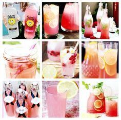 ♥ lemonade ♥ hubert's lemonade ♥ lemon ♥ raspberry ♥ pink ♥ glas bottles ♥ pink ♥