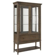 Antique Furniture Faithful 1860s Amoire With Glass Doors Factory Direct Selling Price Antiques