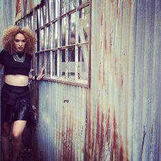 Rogue photo shoot @houseofcabelo.com #davines #randco