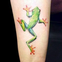 Realistic Frog by Jays tattoos and art