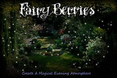 Fairy Berries | White 10-Pack Fun for crafts, too. Great site for resources-cheap!