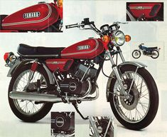 Restoration Yamaha A Small Motorcycles, Yamaha Bikes, Japanese Motorcycle, Classic Motors, Old Bikes, Mini Bike, Atvs, Super Bikes, Street Bikes