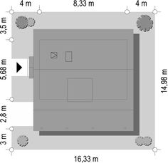 Projekt domu Szarejka – 63.63 m2 - koszt budowy 65 tys. zł Creating A Business, Locker Storage, Home Decor, Houses, Plants, Decoration Home, Room Decor, Home Interior Design, Home Decoration