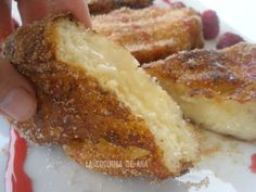 La Cocinika De Ana: Torrijas Rellenas de Crema Pastelera