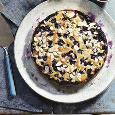 Blueberry Bublanina | Bubbly Cake Recipe — Dishmaps