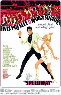 Speedway (1968) starring Elvis Presley & Nancy Sinatra