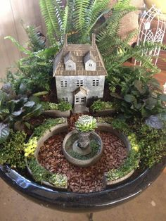 Fairy garden ~ Phelan Gardens, 4955 Austin Bluffs Pkwy, Colorado Springs, CO 80918