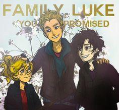 Family Luke, you promised.                             ~Annabeth Chase