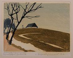 "Erich Buchwald-Zinnwald: ""Tauwetter in Zinnwald"", 1917."