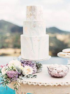 Wedding Cake Wednesday - Marble Cakes