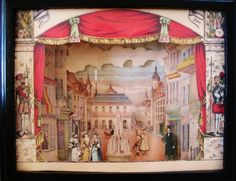 My First Paper Theater!  Posted on September 5, 2012 by Violet Hoarder