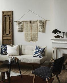 Shades of White + Natural Accents | WABI SABI Scandinavia - Design, Art and DIY.