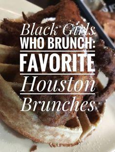 Black Girls Who Brunch: Favorite Houston Brunches, a list of great brunch options in Houston. Houston Brunch, Houston Food, Creme Brulee French Toast, Cinnamon French Toast, Brunch Places, Brunch Spots, Breakfast Klub, Brunch Buffet, Black Food