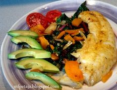 Reclaim your Health through Healing Cuisine:  Halibut Steak with Orange Ginger Sauce