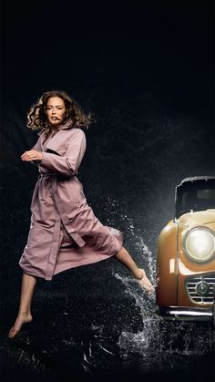 BRGN by Lunde & Gaundal, El Coat, Woodrose Raincoat, Urban, Lifestyle, Clothes, Women, Fashion, Rain Jacket, Outfits, Moda
