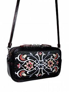 Skórzana torebka GOSHICO z haftowanym frontem do ręki i na ramię http://torebki.pl/skorzana-torebka-goshico-z-haftowanym-frontem-do-reki-i-na-ramie.html