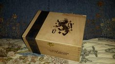 Cigar Box Unico Series Liga Griffin Wooden by IndustrialPlanet