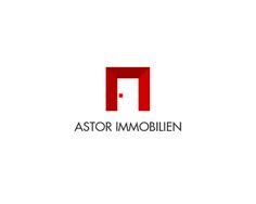 Logo design for Astor Immobilien