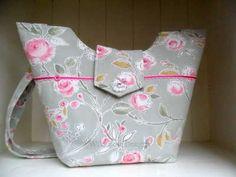 Handmade shabby chic handbag  £40.00