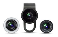 """The Oola Lens is very popular because it is compatible with every popular smartphone of all currently available. Plus the Oola Lens works very well with either the front or rear camera. The lenses are also engineered to a high standard. Oola offers a package of three lenses for $38.00. The """"Adventure Pack"""" by Oola comes with a Macros 12X lens"""