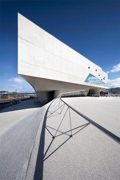 Phaeno Science Center, Wolfsburg, Germany | designed by Zaha Hadid | Photography by Johannes Heuckeroth