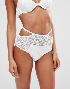 Somedays Lovin Coco Lace High Bikini Bottom