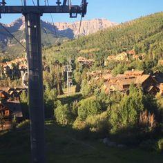 Mountain Village of Telluride -Gondola ride