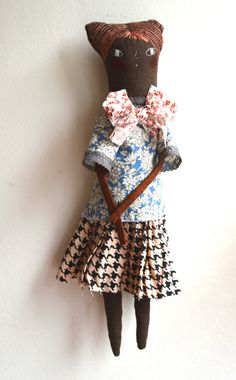 Floella - An Art Doll by melodiestacey on Etsy
