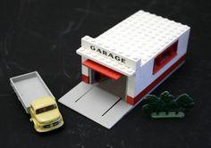 Lego Set 236 GARAGE + MERCEDES LKW + Busch in Wetzikon ZH kaufen bei ricardo.ch
