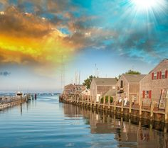 Nantucket is a tourist destination and summer colony. The population of the island increases to about 50,000 during the summer months, due to tourists and seasonal residents. #destinations #island #nantucket #tourists #holiday #vacation #nature #coast