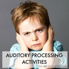 Auditory processing activities used for addressing auditory sensory needs in kids Free Rate Quote - Best Possible Rates All Terminals For Every Event or Situation Retail Restaurant Mobile Phonics Activities, Sensory Activities, Therapy Activities, Therapy Ideas, Ot Therapy, Sensory Therapy, Work Activities, Music Therapy, Sensory Toys