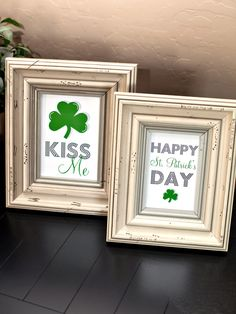 Free Printable St. Patty's Day Art Prints by The TomKat Studio for HGTV