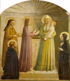 Presentation of Jesus at the Temple by Fra Angelico