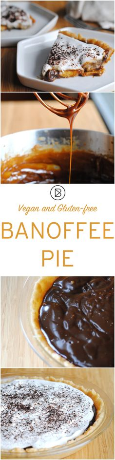 Banoffee Pie- Vegan and Gluten Free variations. http://theblenderist.com/banoffee-pie-vegan-and-gluten-free/