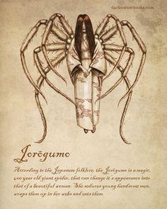 Dark Corner Bestiary- Jorōgumo #7