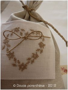 Blanc Lin 2 Embroidery Hearts, Blackwork Embroidery, Embroidery Monogram, Cross Stitch Embroidery, Embroidery Patterns, Cross Stitch Designs, Cross Stitch Patterns, Lavender Bags, Cross Stitch Finishing