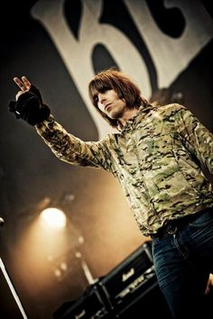 See Beady Eye pictures, photo shoots, and listen online to the latest music. Liam Gallagher Noel Gallagher, Definitely Maybe, Liam And Noel, Male Icon, Beady Eye, Photos Of Eyes, British Invasion, Pretty Green, Latest Music
