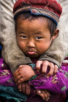 "Faces of Nepal - Little ""Tamang"" Girl by mitchellk81, via Flickr"