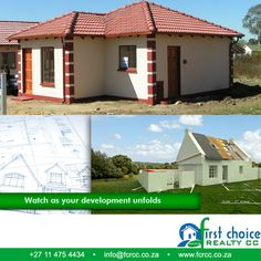 New Tuscan Style Development by First Choice Realty, in Pretoria West. The Orchards. We offer packages that caters for the budget and needs of all housing consumers Visit our website: http://besociable.link/4g #property #affordablehousing #PretoriaWest