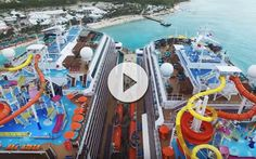Caribe y cruceros. Una maravilla ante los ojos del cruceroadicto que podemos disfrutar en este vídeo de 2 barcos Carnival Cruise Line en Grand Turk.
