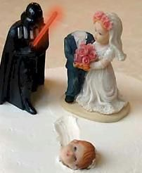 23 sci-fi themed-wedding cake toppers good enough for the Royals | Blastr