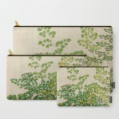 Maidenhair Ferns Carry-All Pouches Set of 3