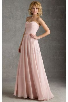 2016 Pretty Pearl Pink A-line Sweetheart Bridesmaid Dresses - by OKDress UK