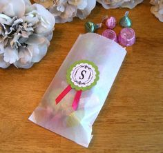wedding candy bar bags - Google Search