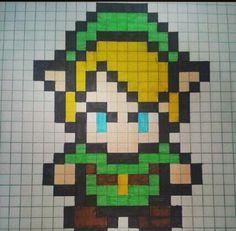 Zelda fuse bead